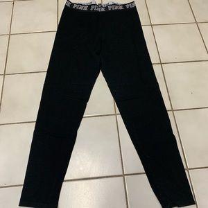 Black leggings by PINK